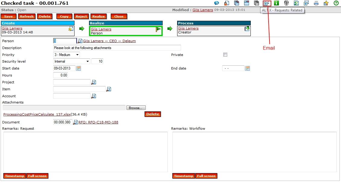 Workflow Plus Email Glm Systems